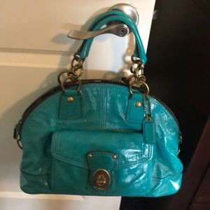 Coach Francine Legacy Patent Leather Lim Edition